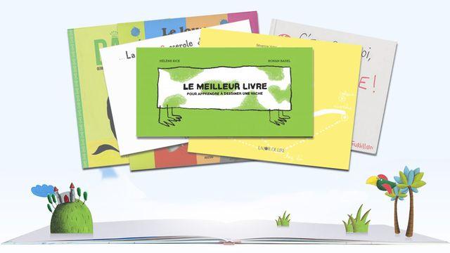 """""""Le meilleur livre pour apprendre à dessiner une vache"""" de Hélène Rice & Ronan Badel. [RTS]"""