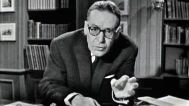 L'historien Henri Guillemin propose en 1962 une nouvelle lecture de l'affaire Bazaine. [RTS]