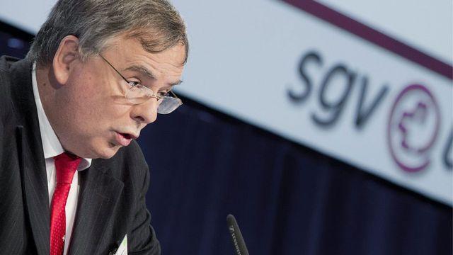 Jean-François Rime, directeur de l'usam. [Peter Schneider - Keystone]