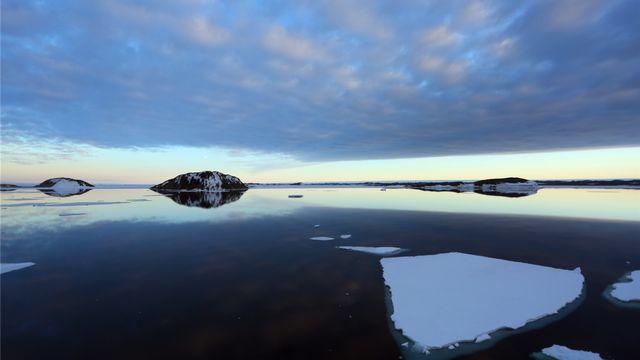 L'Antarctique au large de l'Australie. [Xinhua/Bai Yang - AFP]