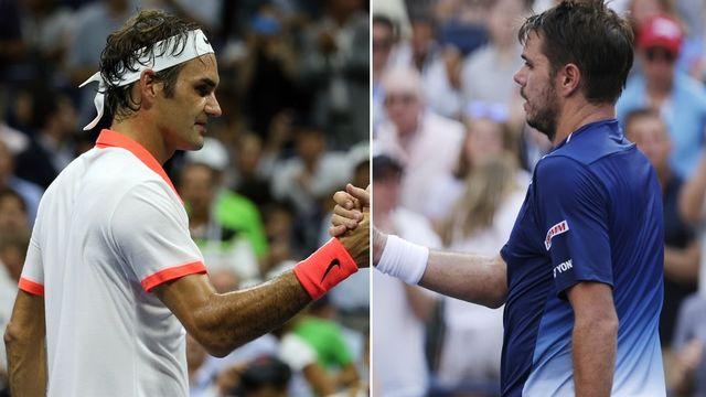 Il y aura un Suisse en finale dimanche à Flushing Meadows. Federer ou Wawrinka? [C.Krupa/A.Hunger - Keystone]