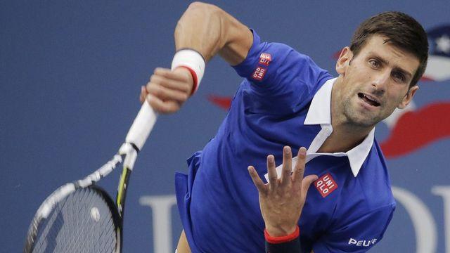 Une chose est sûre: Djokovic ne sera pas entamé physiquement dimanche pour la finale. [Ray Stubblebine - Keystone]