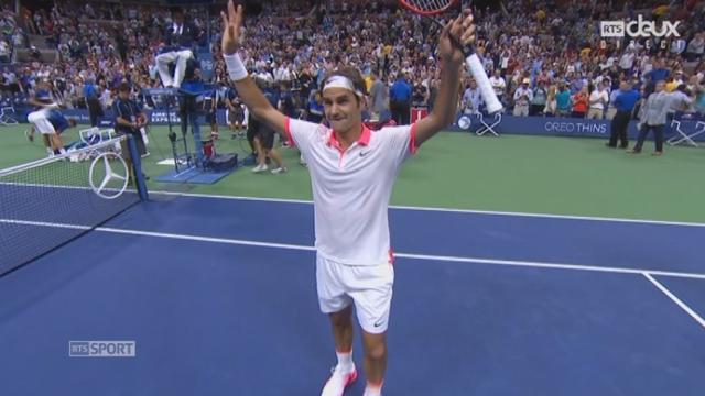 1-2, S. Wawrinka - R. Federer (4-6, 3-6, 1-6): intraitable, Federer surclasse Wawrinka et rejoint Djokovic en finale [RTS]