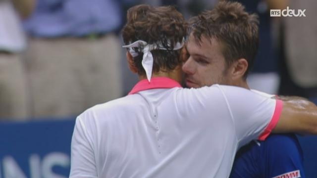 Tennis - US Open: Federer a été magistral face à Stan Wawrinka [RTS]