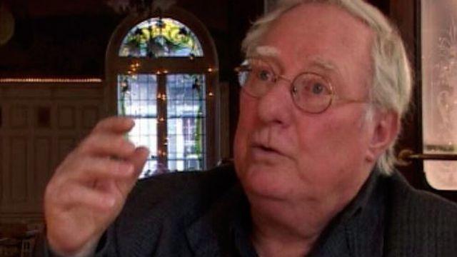 L'écrivain et poète jurassien Alexandre Voisard en 2005. [RTS]