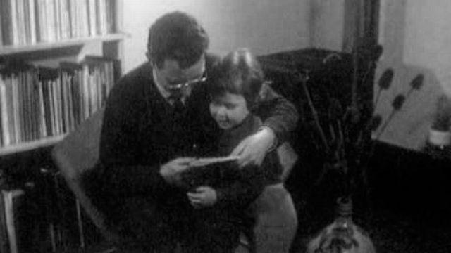 Alexandre Voisard primé en 1961. [RTS]