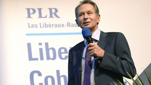 Philipp Müller, président du Parti libéral radical. [Walter Bieri - Keystone]
