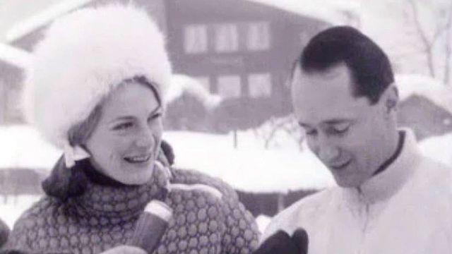 Vacances à Gstaad pour la princesse Irène et son mari.
