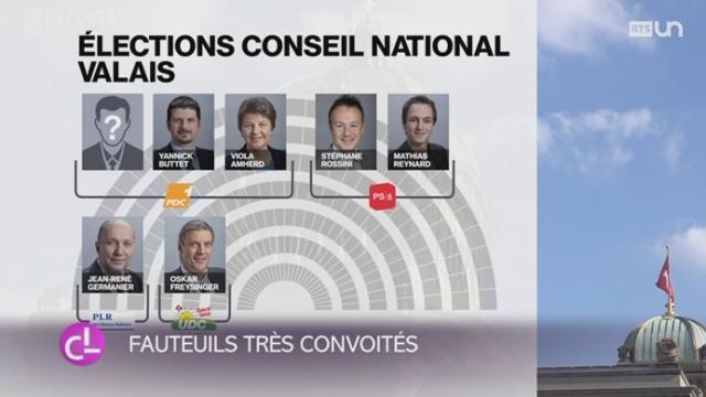 Élections fédérales: le Valais n'a jamais connu un tel engouement politique sur le plan fédéral [RTS]