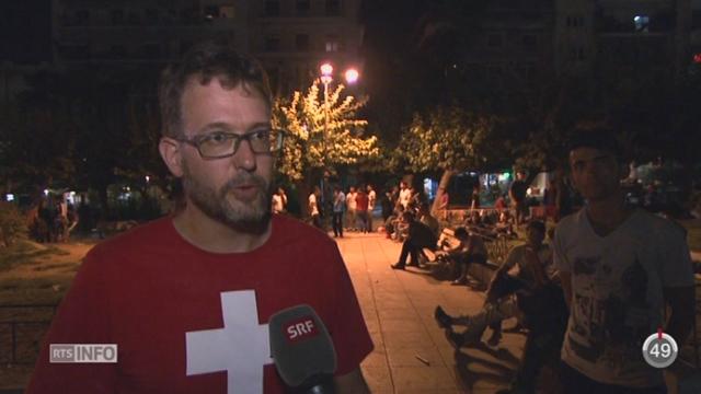Crise des migrants: des élans de solidarité voient le jour [RTS]