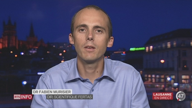 Spermatozoïdes in vitro: l'interview du Dr Fabien Murisier, directeur scientifique de Fertas [RTS]