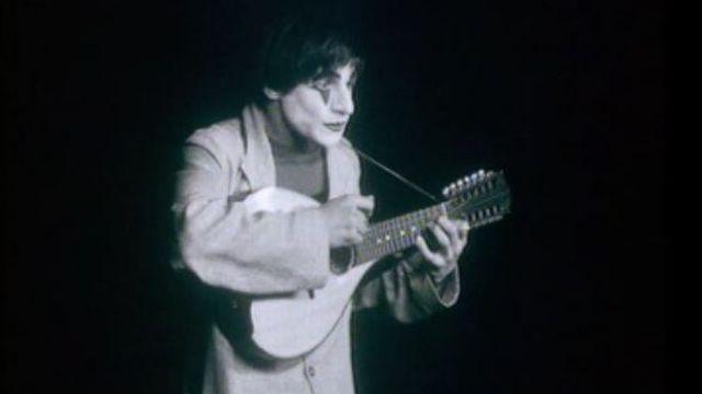 Le clown Dimitri en 1972. [RTS]