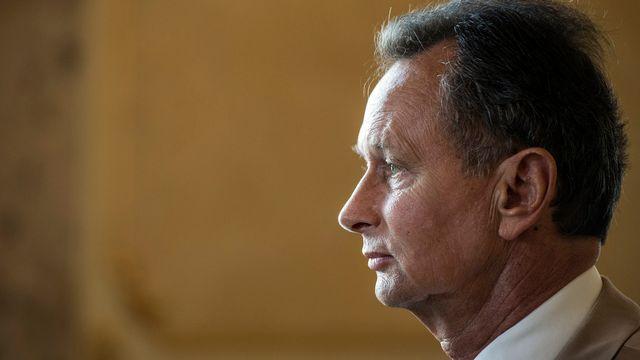 Pour le président du PLR, les relations de la Suisse avec l'Union Européenne seront un thème central de sa campagne. [Keystone]