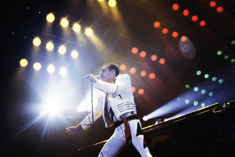 Un concert de Queen en 1984 à Paris.