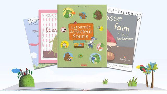 """""""La tournée de Facteur Souris"""" de Marianne Dubuc. [RTS]"""