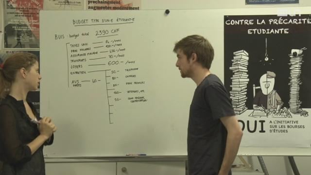 Le budget des étudiants [RTS]