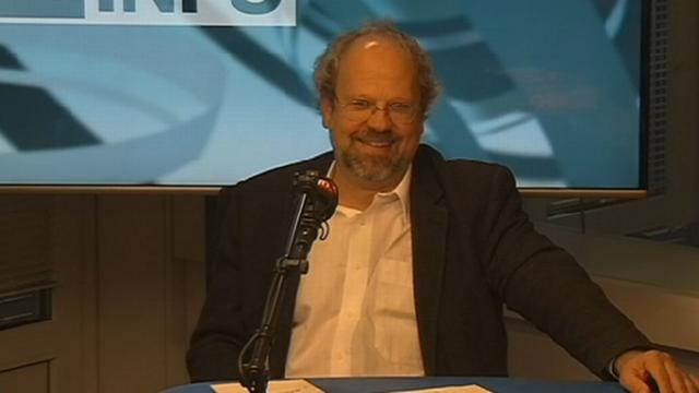 Marius Achermann, président du Centre Gauche - PCS.