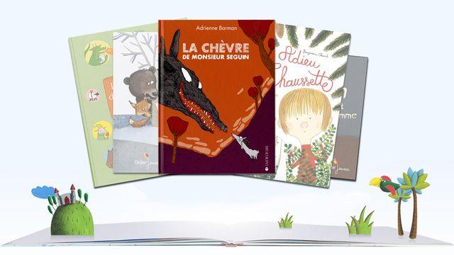 """""""La Chèvre de Monsieur Seguin"""" illustré par Adrienne Barman. [RTS]"""