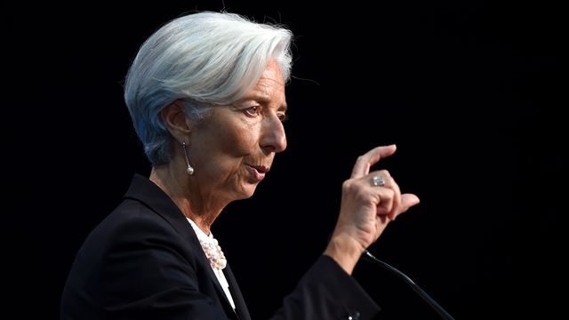 Christine Lagarde, directrice du FMI. [William West - AFP]