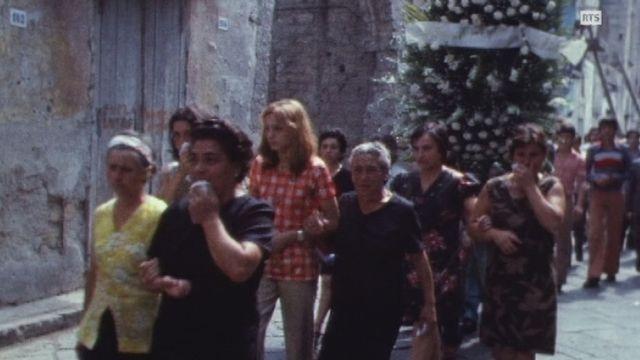 Une épidémie de choléra frappe la ville de Naples en 1973. [RTS]