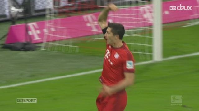 Bayern Münich - VfL Wolfsburg (5-1) : quintuplé historique de Lewandowski en 9 minutes! [RTS]