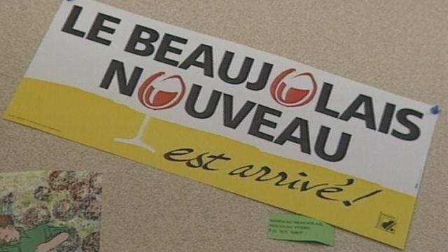 Le Beaujolais nouveau en 1993. [RTS]