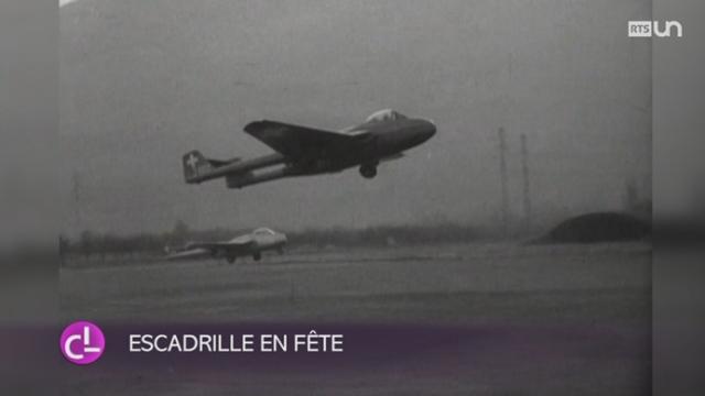 VD: l'escadrille 17, qui assure la sécurité aérienne du pays, fête ses 90 ans [RTS]