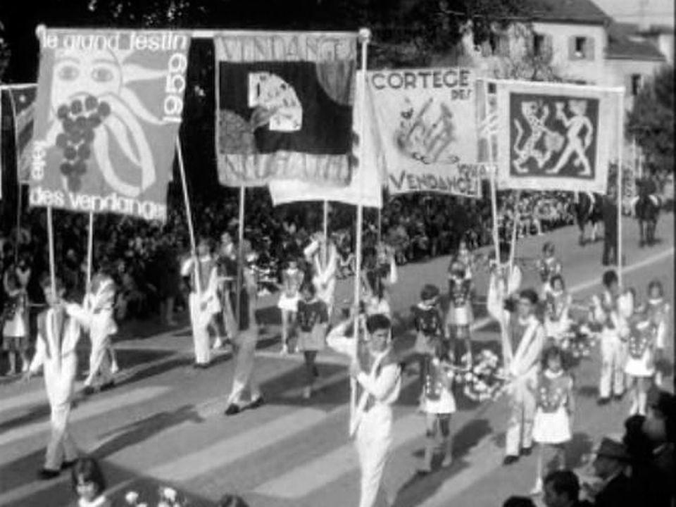 Neuchâtel, une fête pour marquer la fin des vendanges. [RTS]