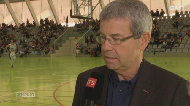 Basketball suisse: le point avec Gabriel Gisler, DIrecteur de la ligue nat. de basket, depuis Yverdon [RTS]