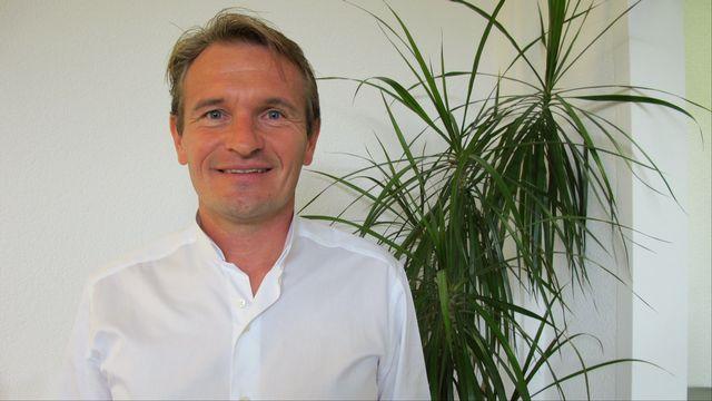 Laurent Seydoux, vice-président des Vert'libéraux [Caroline Briner - RTS]