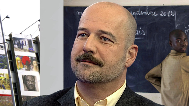 François Grin, professeur d'économie à la faculté de traduction et d'interprétation, UNIGE et coordinateur du projet MIME de la Commission européenne. [RTS]