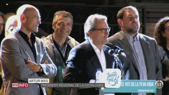 Elections en Catalogne: les indépendantistes remportent une victoire contrastée [RTS]