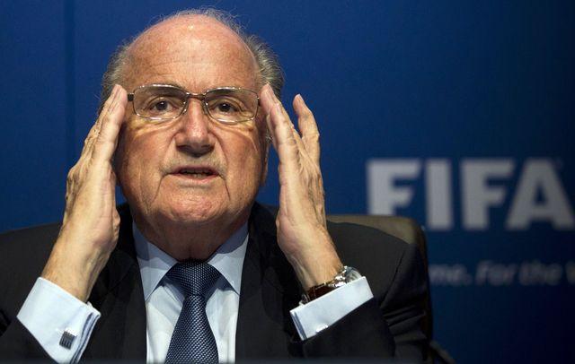 Sepp Blatter. [AP Photo/Anja Niedringhaus - key]