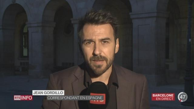 Elections en Catalogne: les précisions de Jean Gordillo depuis Barcelone [RTS]