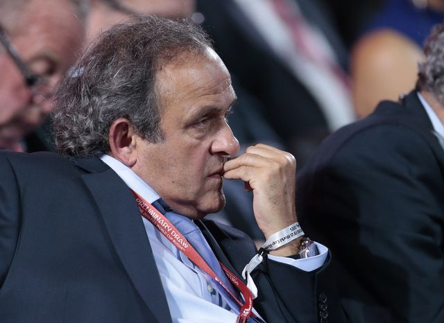 Michel Platini. [Ivan Sekretarev - AP/Keystone]