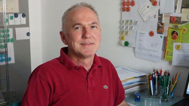 Jürg Wiedemann, candidat du tout nouveau parti Vert Indépendant à Bâle-Campagne. [Delphine Gendre - RTS]