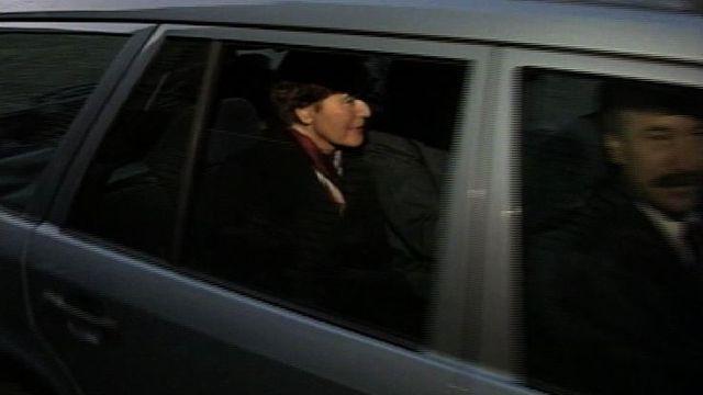 Elisabeth Kopp quitte le Conseil fédéral. [RTS]