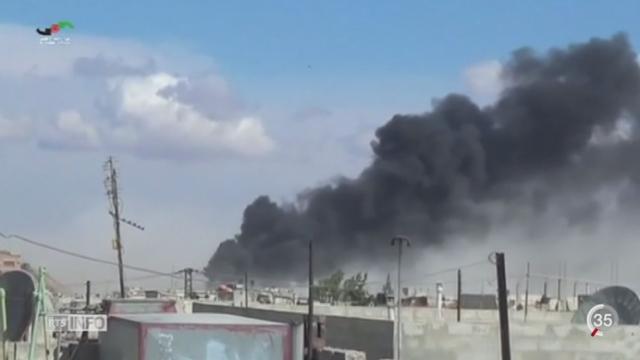 Syrie: la Russie continuent ses frappes aériennes [RTS]
