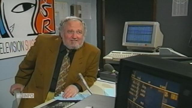 L'ancien journaliste sportif de la TSR Jean-Jacques Tillmann s'est éteint [RTS]
