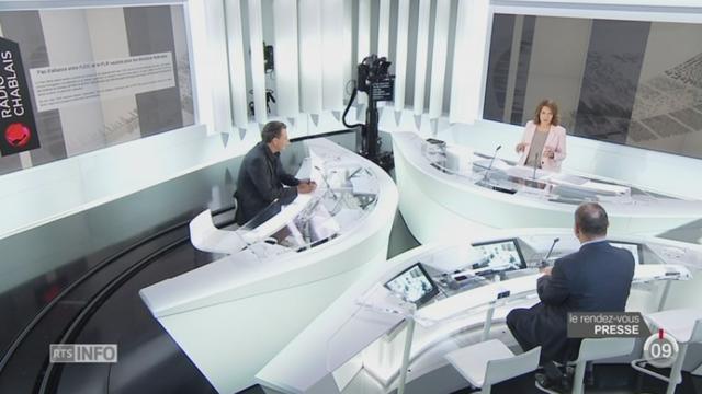Le rendez-vous de la presse: Thierry Meyer et Florian Barbey discutent de la députation vaudoise [RTS]