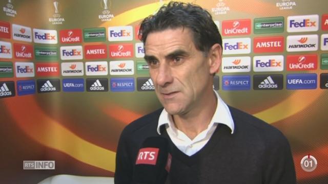 Football - Europa League: le FC Sion fait match nul face à Liverpool (1-1) [RTS]