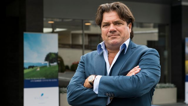 Antoine Hubert, directeur du groupe Genolier. [Jean-Christophe Bott - Keystone]