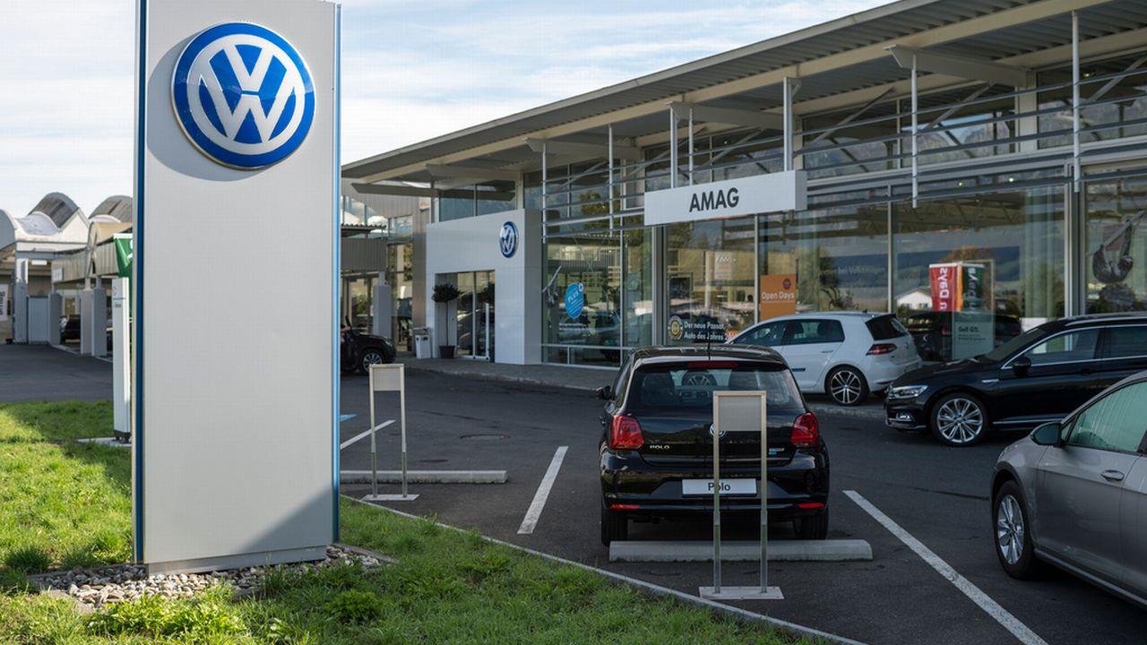 Amag met en ligne le lien qui permet de déterminer les véhicules concernés par le scandale VW. [Gian Ehrenzeller - Keystone]
