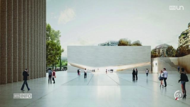 VD: le nouveau visage du pôle muséal de Lausanne se découvre un peu plus [RTS]