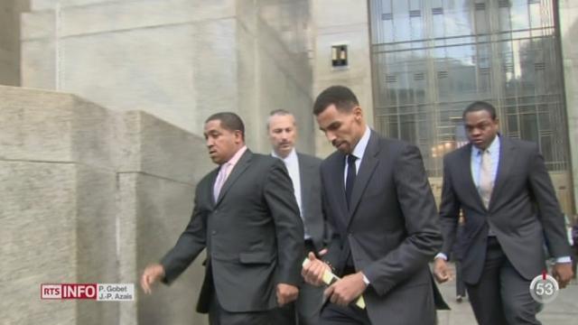 Etats-Unis: le procès de la star suisse du basket Thabo Sefolosha a débuté à New York [RTS]