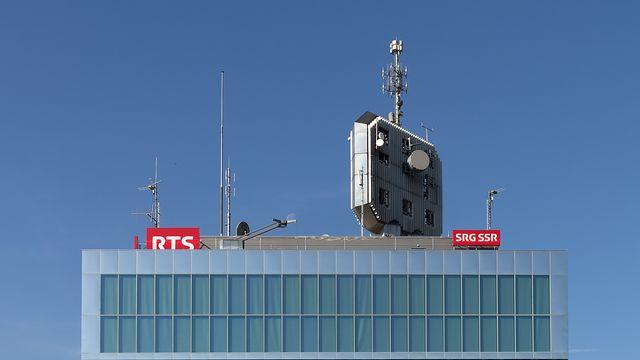 Tour de la RTS à Genève [Laurent Bleuze - RTS]