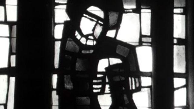 Les nouveaux vitraux de l'église de Cheiry.