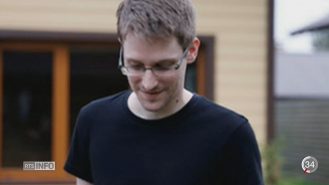 Protection des données: la décision de l'UE s'inscrit dans la suite des révélations d'Edward Snowden [RTS]