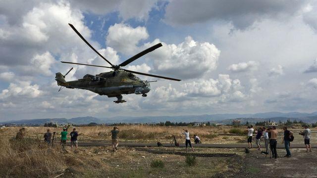Les forces aériennes russes pourraient se coordonner avec la coalition internationale en Syrie. [Dmitriy Vinogradov - RIA Novosti]