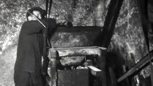 Une visite au dernier artisan presseur de noix.
